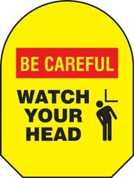 Mirror Awareness Guard: Be Careful Watch Your Head