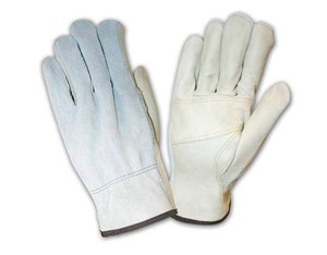 Grain Split Cowhide Drivers Gloves