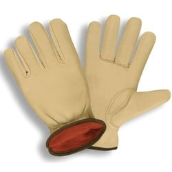 Premium Grain Cowhide Lined Gloves