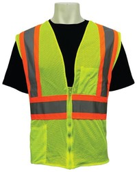 FrogWear® Class 2 Mesh Safety Vests, Two-Tone