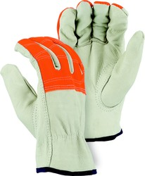 Economy Grain Leather Drivers Gloves