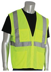 Economy Class 2 Vest with Zipper and 4 Pockets