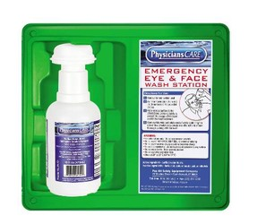 Eye Flush Stations with Sterile Eyecups
