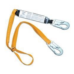 Adjustable Lanyard with Shock Pack