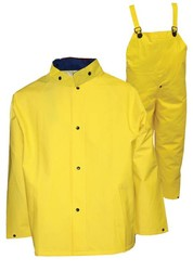 .35 mm PVC-on-Polyester Industrial Work Apparel